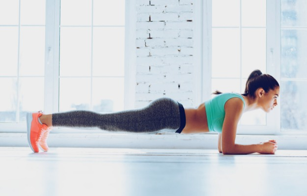 Plank   Easy Arm Workouts For Slim And Toned Arms   arm workouts without weights