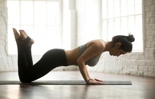 Knee Push-ups   Easy Arm Workouts For Slim And Toned Arms   arm workouts at home