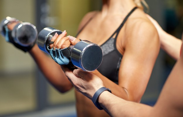 Bicep Curls   Easy Arm Workouts For Slim And Toned Arms   arm workout with dumbbells