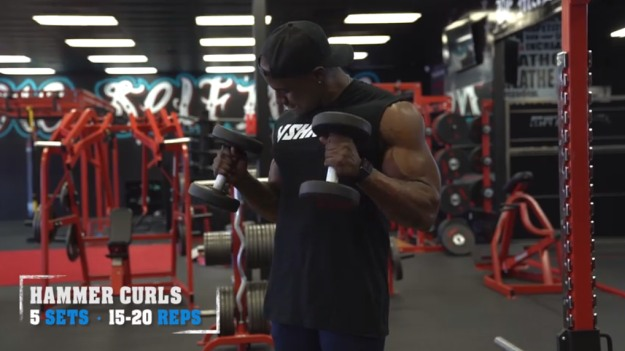 Hammer Curls | The Top 5 Workouts For Bigger Arms