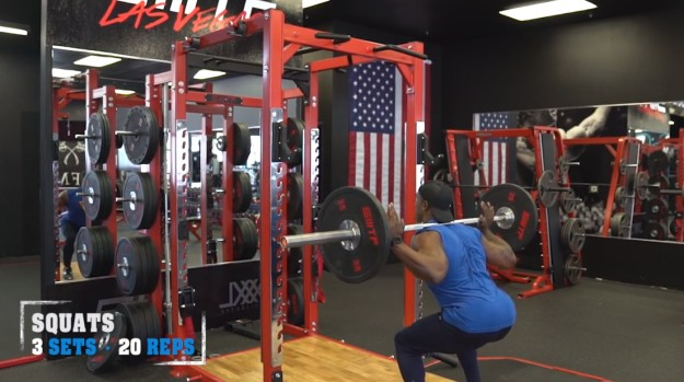 Barbell Squats | V Shred's Ultimate Full Leg Workout