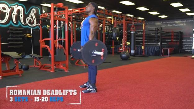 Romanian Deadlifts | V Shred's Ultimate Full Leg Workout