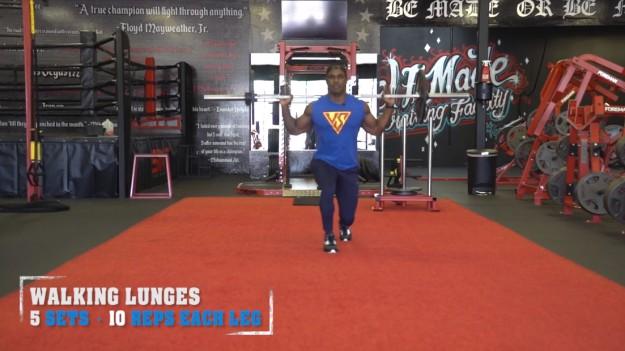 Walking Lunges | V Shred's Ultimate Full Leg Workout